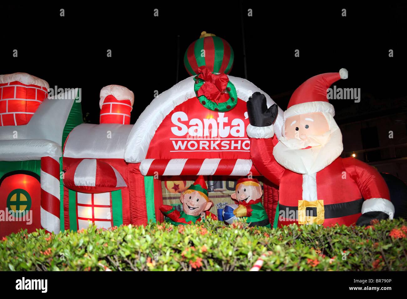 santa chair covers australia wheelchair gst santas workshop stock photos and