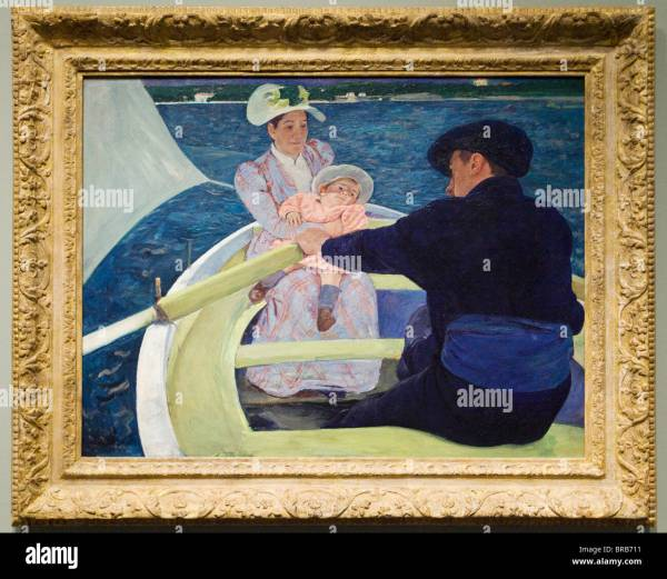 Mary Cassatt Boating Party By