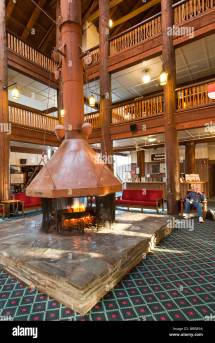 Glacier Hotel Stock &