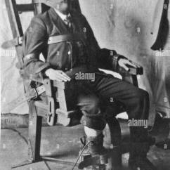 Death By Electric Chair Video Cover Hire Dudley Execution Stock Photos As Used In Some American Statesin The Early 1900s Image