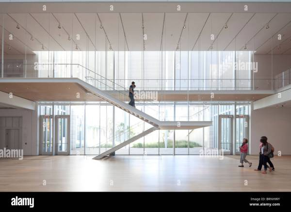 Art Institute Of Chicago Modern Wing Designed Renzo Piano Opened Stock Royalty Free