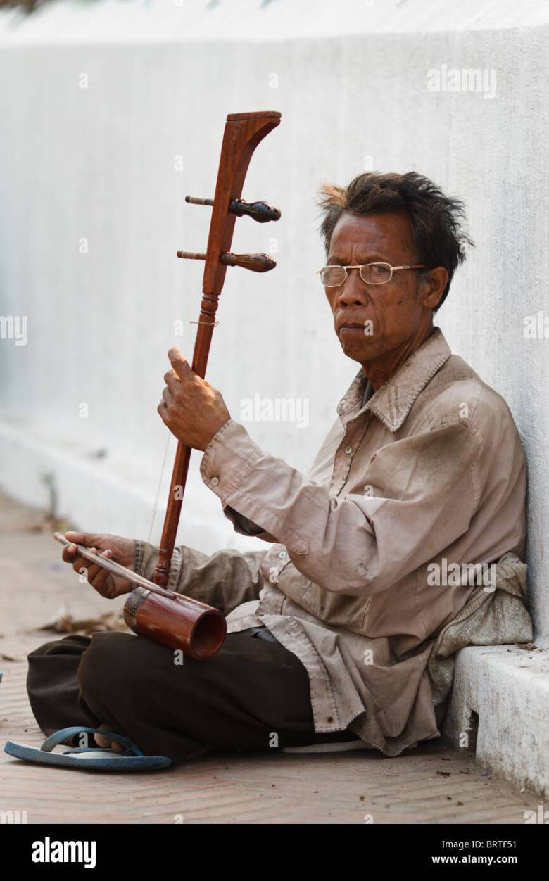 lao music stock photos & lao music stock images - alamy