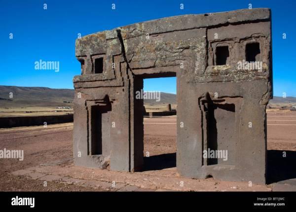Tiwanaku Civilization Stock &