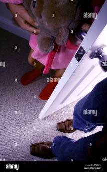 Little Girls Feet Stock &