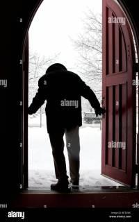 Silhouette Doorway Stock Photos & Silhouette Doorway Stock ...