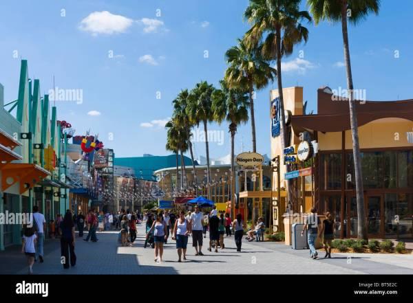 West Side Shops Downtown Disney Lake Buena Vista Orlando Central Stock 32082916 - Alamy