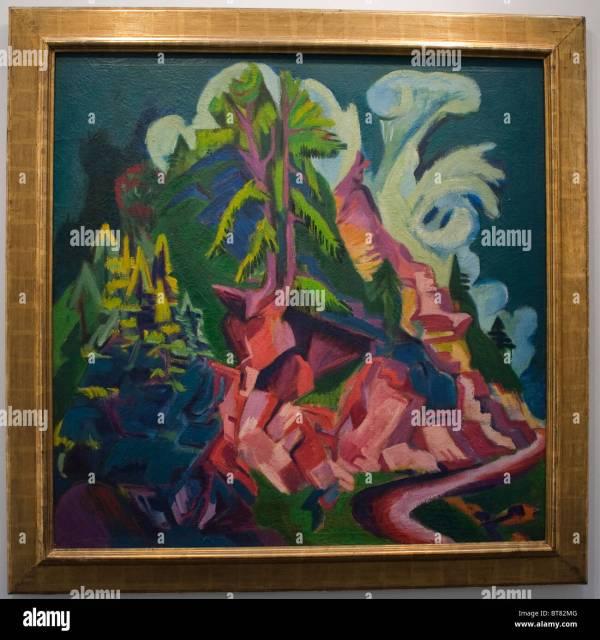 German Expressionism Paintings