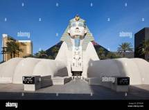 Luxor Hotel With Pyramid And Sphinx Las Vegas