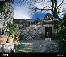 Cobbled Courtyard Stock &