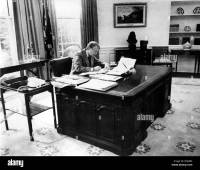 President Jimmy Carter at work in the Oval Office of the ...