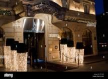 Paris France Luxury Hotel Fouquet' Barriere Front 5