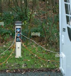caravan electric hook up stock image [ 870 x 1390 Pixel ]
