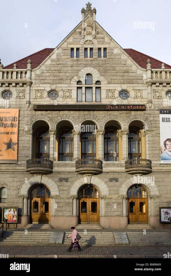 Theatre Facade Stock & - Alamy