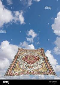 magic carpet in a blue sky Stock Photo, Royalty Free Image ...