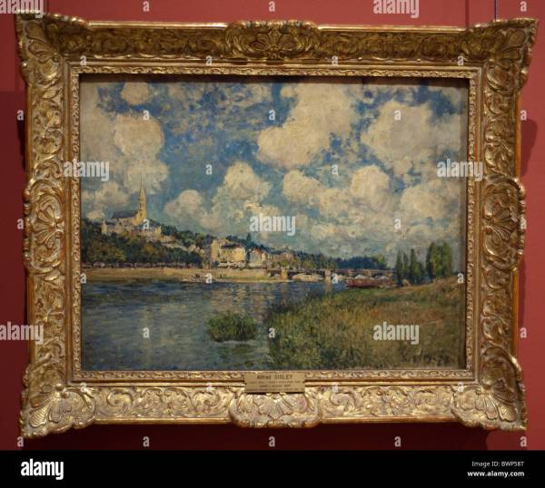 Paris France Louvre Museum French Impressionist Paintings Stock 33063880 - Alamy