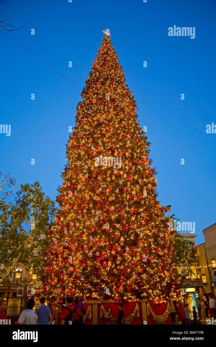 Christmas Tree at the Grove, Los Angeles, California, USA