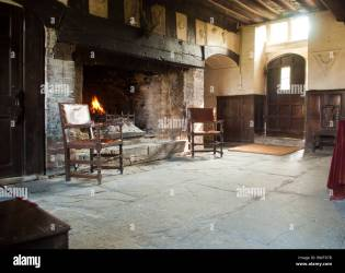 Medieval Fireplace High Resolution Stock Photography and Images Alamy