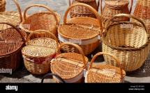 Basketry Traditional Handcraft In Spain Handmade