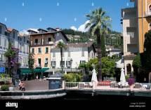 Italy Sirmione Lake Garda Hotel Stock &