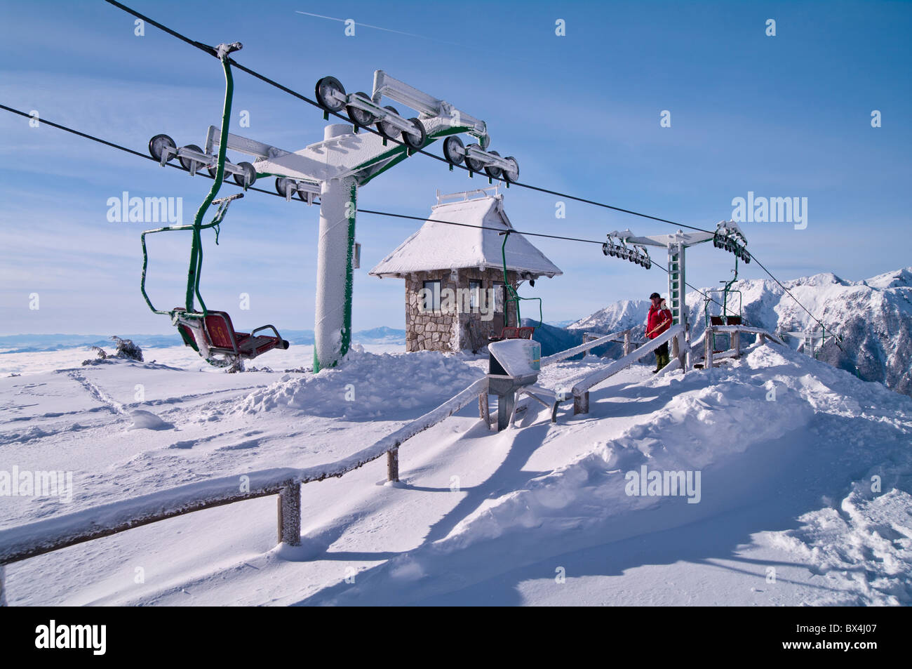 buy ski lift chair steelcase think review line at the center of velika planina