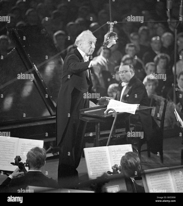 Conductor Leopold Stokowski - Year of Clean Water