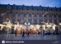 Hotel Ritz Paris Place Vendome