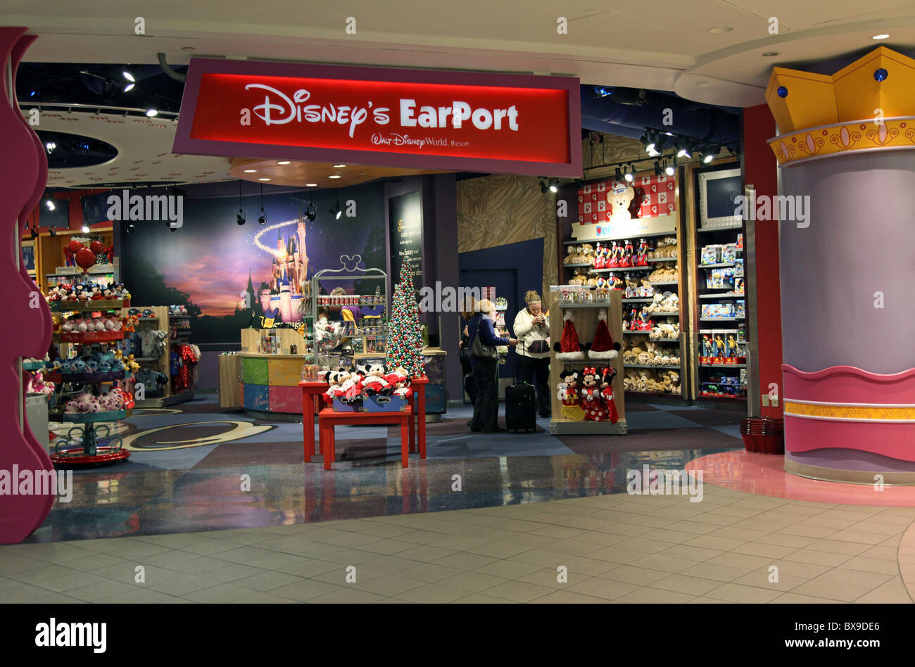 the disney earport store