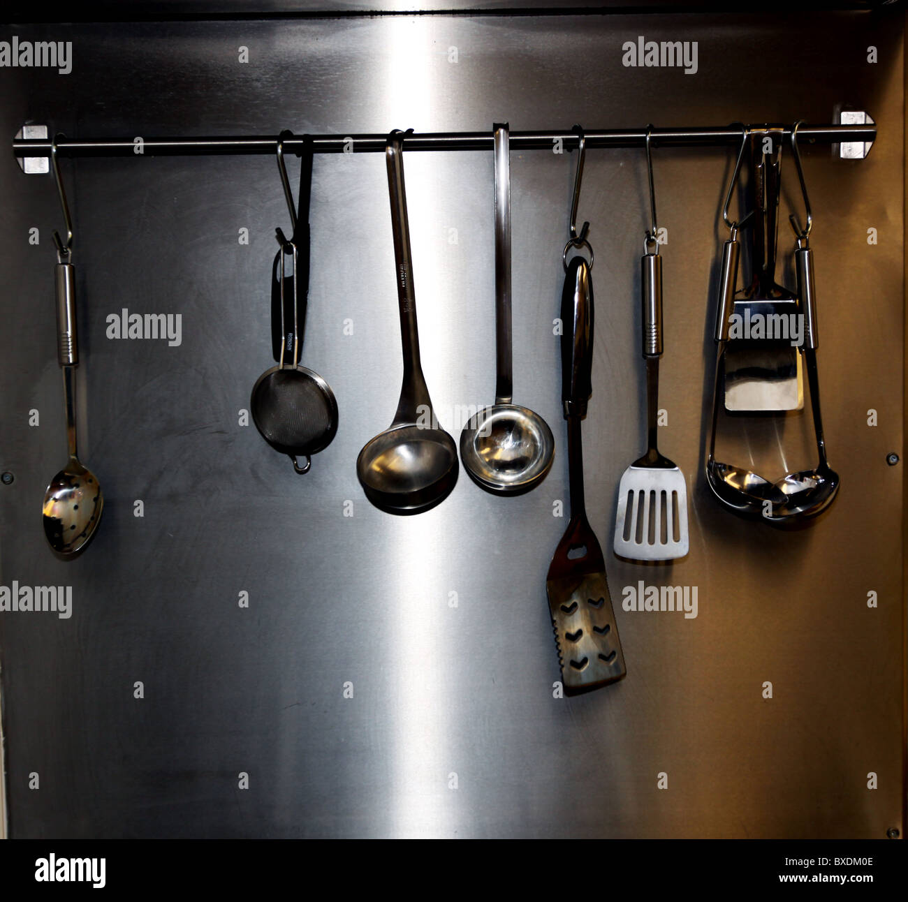kitchen utensils store cabinet for sale stock photos and