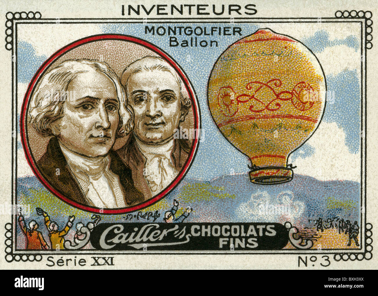 Image result for joseph and jacques montgolfier hot air balloon