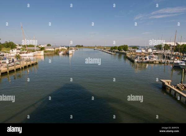 Maryland Eastern Shore Tilghman Island Stock Photos