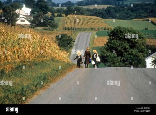 Amish Lancaster County Pennsylvania