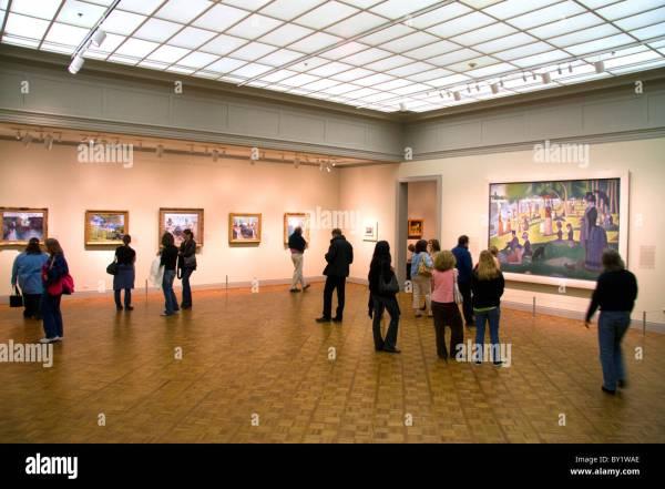 Sunday Afternoon Island Of La Grande Jatte Georges Seurat Stock 33847926 - Alamy