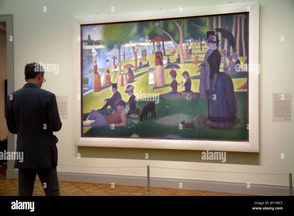 Sunday Afternoon Island Of La Grande Jatte Georges Seurat Stock 33847973 - Alamy