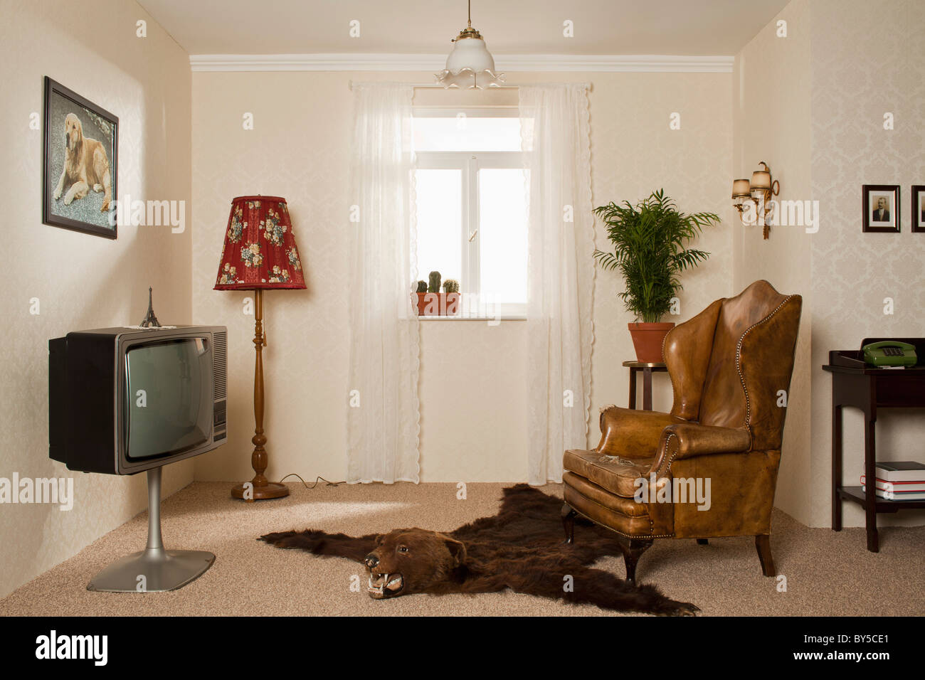 kitschy living room images 2018 a kitsch stock photo 33925641 alamy