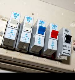 uk old electric fuse box in a london house stock photo 33998844 install 200 amp fuses in box electric fuse box [ 1300 x 956 Pixel ]