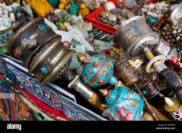 Tibetan Market Stock &