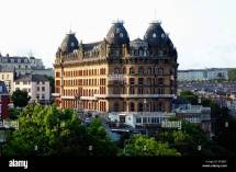 Grand Hotel Scarborough England Uk Stock