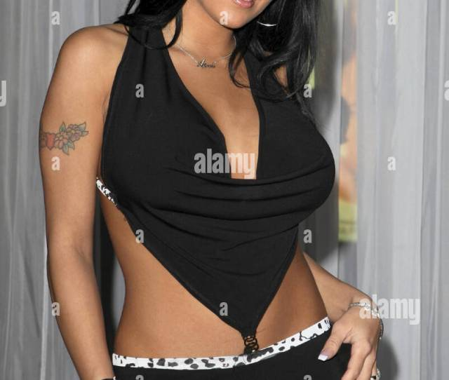 Lanny Barbie Jenna Jameson Makes An Appearance With A New Short Haircut Wearing Versace At The