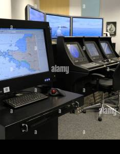 Ecdis electronic chart display and information system training centre at fareham hampshire england also rh alamy