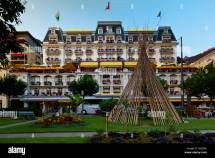 Grand Hotel Suisse Montreux Canton Vaud Lake Geneva
