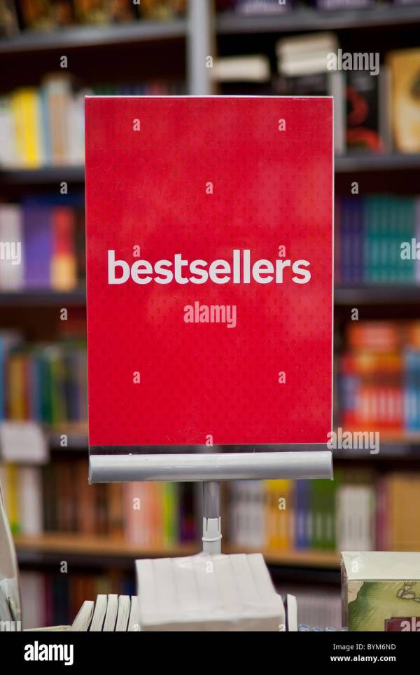 Bestsellers Area In Bookstore - Books