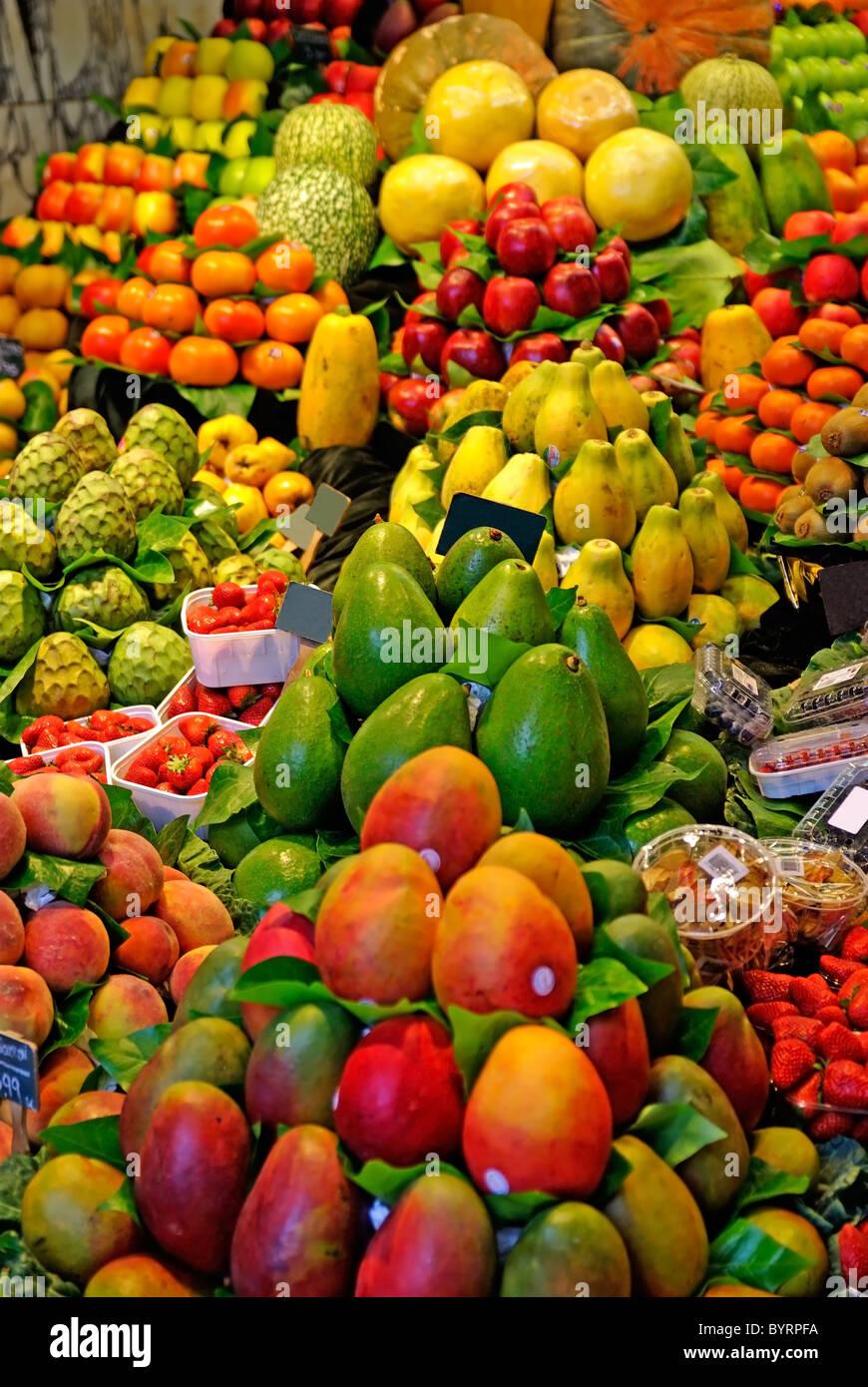 fruits world famous barcelona