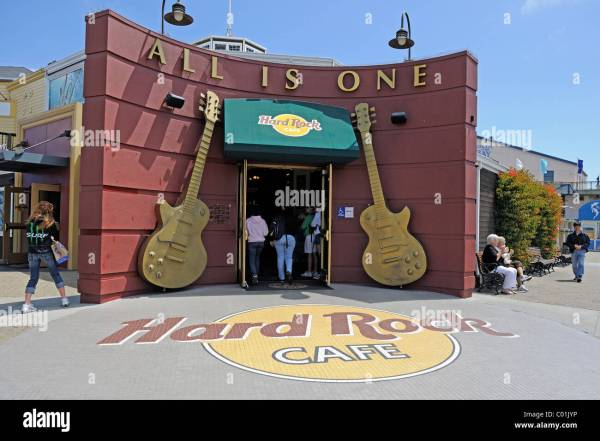 Hard Rock Cafe Pier 39 Fisherman' Wharf San