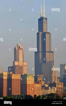 Chicago Skyline Sears Tower Renamed