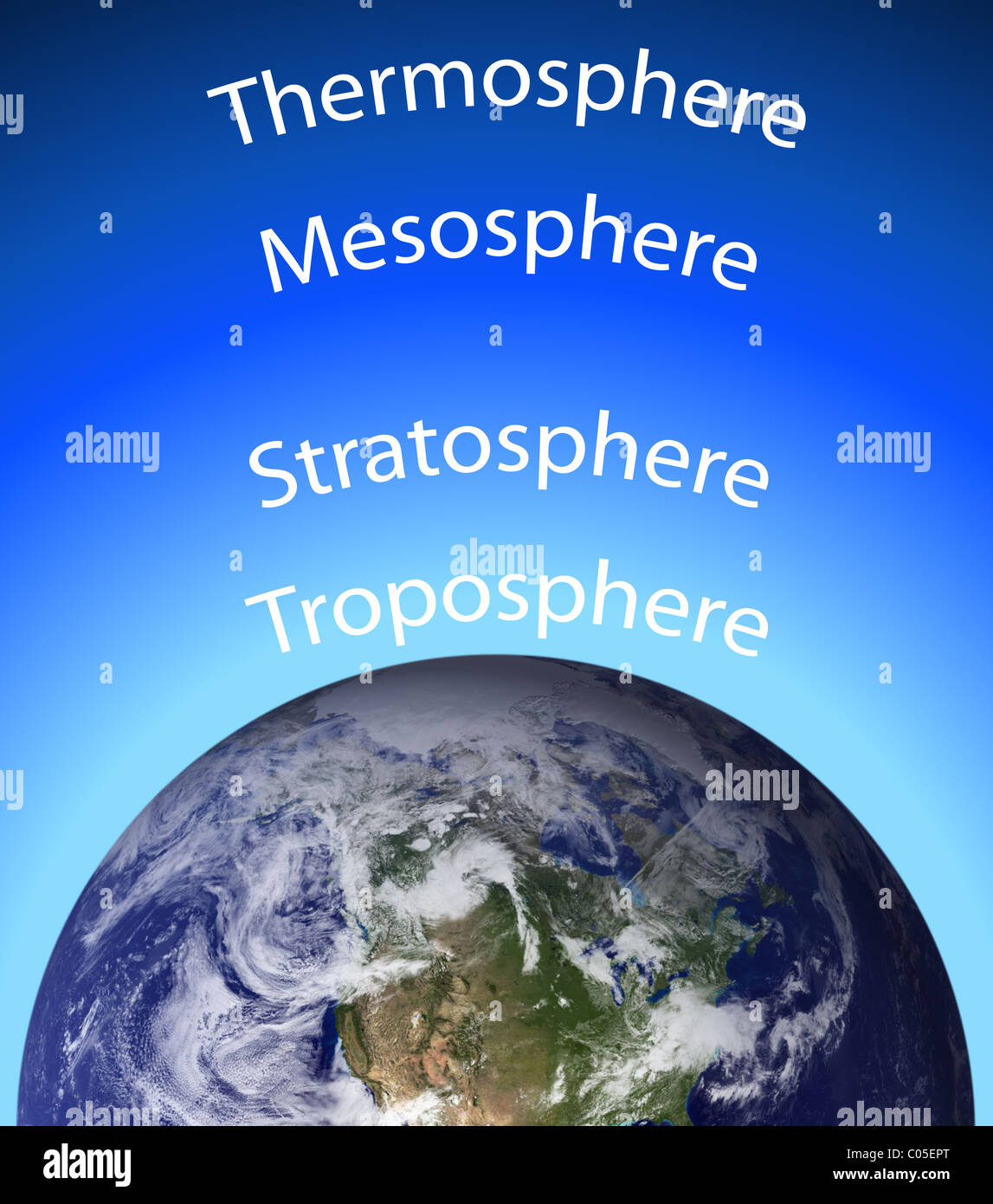 hight resolution of diagram of the earth s atmosphere