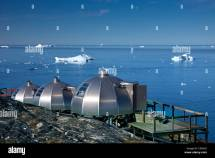 Metal Igloo Cabins Of Hotel Arctic Over Ice