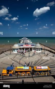 Cromer Pier Town Seaside Stock &