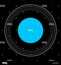an illustration showing the details of the rings of uranus stock image [ 1300 x 1390 Pixel ]