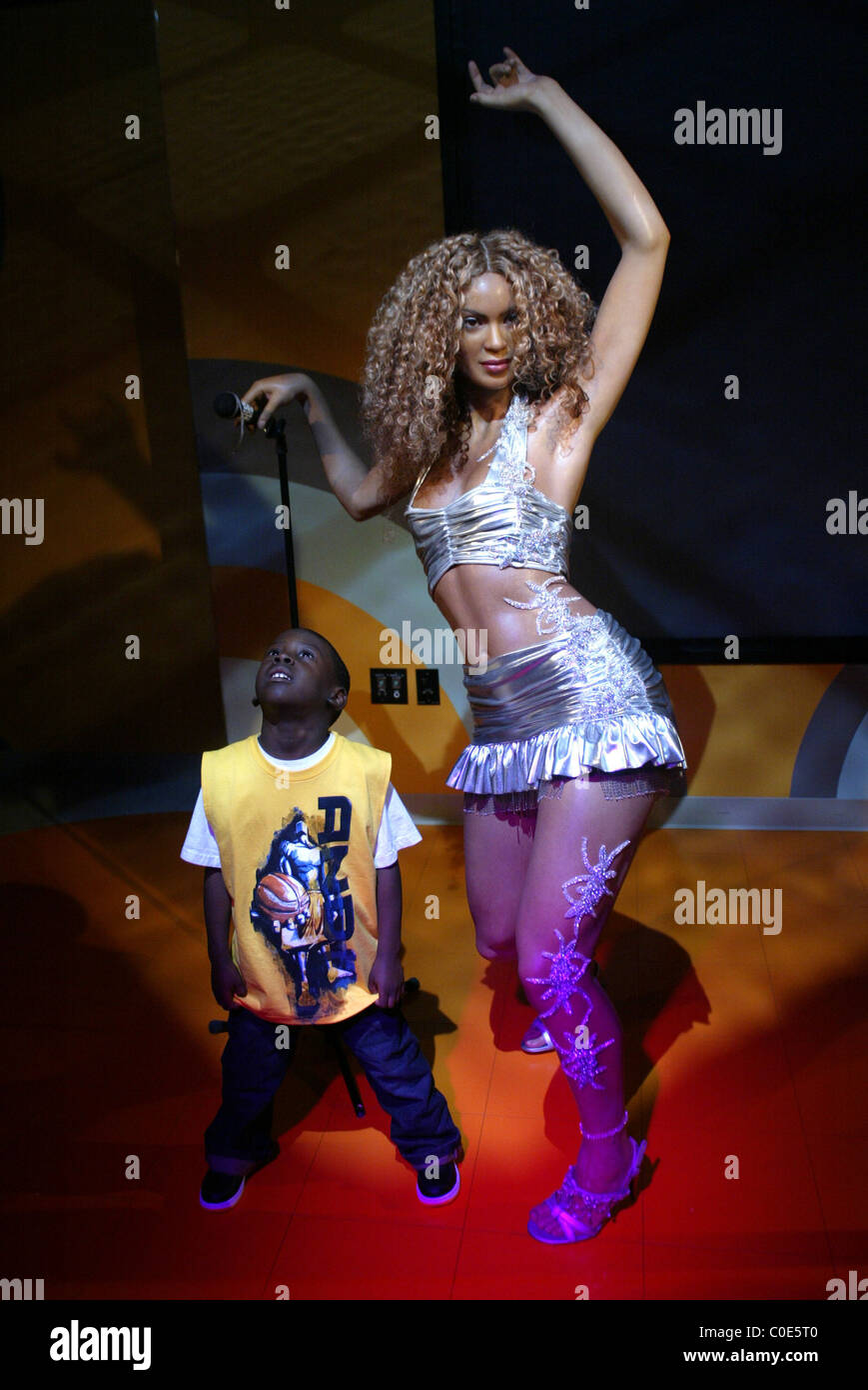 https www alamy com stock photo beyonce knowles madame tussauds wax museum celebrated the unveiling 34732656 html