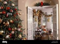 Christmas Decorating French Doors | Psoriasisguru.com